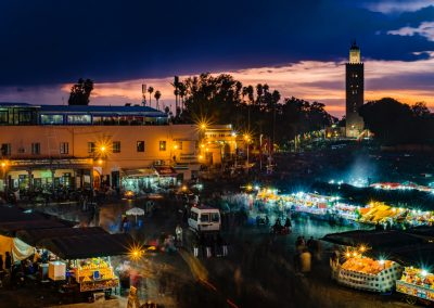 Jemaa el-Fnaa, Marrakech