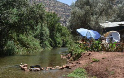 Off the Beaten Track; Exploring Morocco's Mountains and Rivers During High Summer