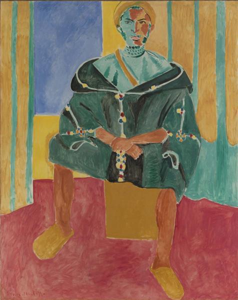 Le Rifain assis, 1912, oil on canvas, 78 7/8 x 63 1/4 in. (200.3 x 160.7 cm),Barnes Foundation,Philadelphia, PA